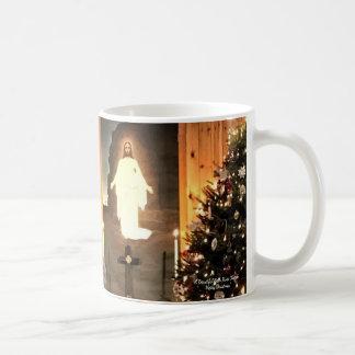 Mug Beau Noël d'église de rivière d'ours