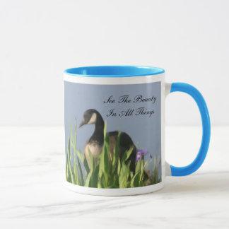 Mug Beauté d'oie du Canada inspirée
