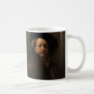 Mug Beaux-arts de l'autoportrait de Rembrandt Van Rijn