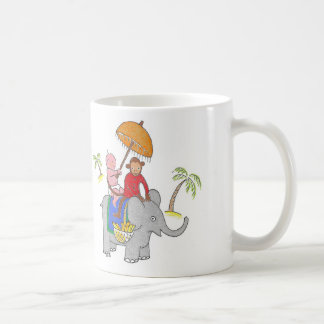 Mug Bébé sur l'éléphant