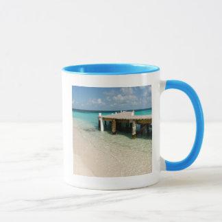 Mug Belize, mer des Caraïbes, Goff Caye. Une petite