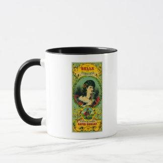 Mug Belle de tabac LabelPetersburg, VA de la Virginie