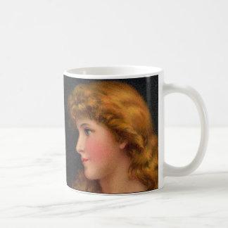 Mug belle femme du 19ème siècle