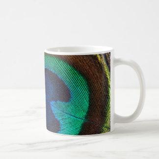Mug Belle plume de paon