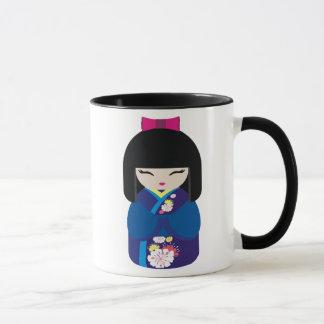 Mug Belle poupée japonaise chinoise orientale