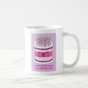 Mugs Tasses Bouteilles Belle Soeur Joyeux Anniversaire Zazzle Fr