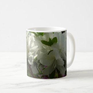 Mug Belles fleurs de ressort d'azalées blanches