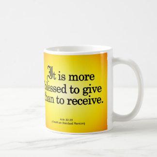 Mug Bénédiction pour donner à Lois 20-35