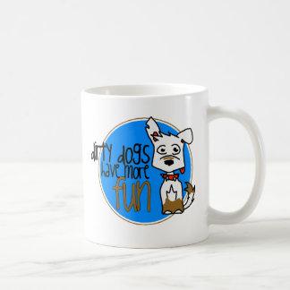 Mug Berger allemand blanc - logo bleu