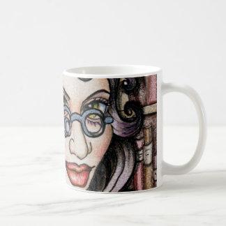 Mug Bibliothécaire de Steampunk Steamface