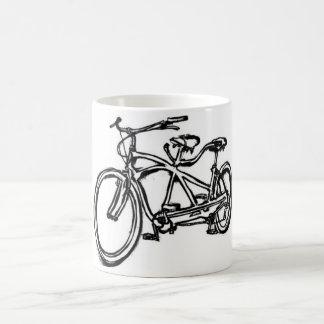 Mug Bicyclette construite pour le vélo 2 (de tandem