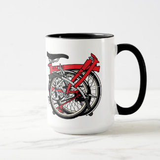 Mug Bicyclette de Brompton pliée