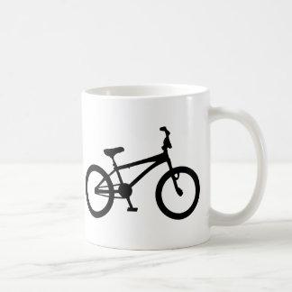 Mug bicyclette noire de bmx