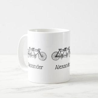 Mug Bicyclette vintage construite pour deux/vélo