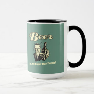 Mug Bière : Hé elle est meilleur marché que la