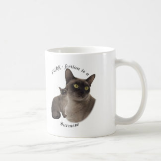 Mug Birman de chocolat de Ronronnement-fection