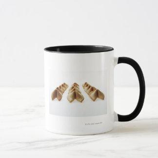 Mug Biscuits de fortune dans trois rangées