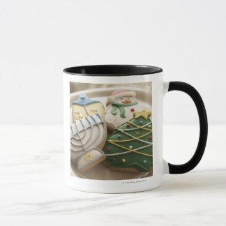 Mug Biscuits de Noël et de Hanoukka de plat,