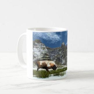 Mug Bison dans la montagne