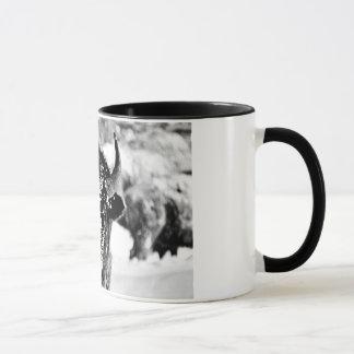 Mug Bison givré de Yellowstone