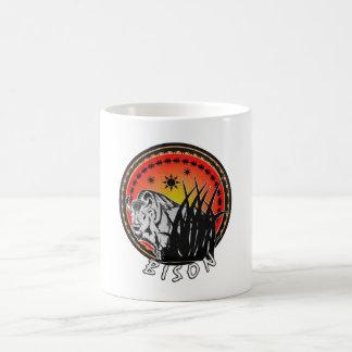 Mug Bison - rayon de soleil américain de Buffalo