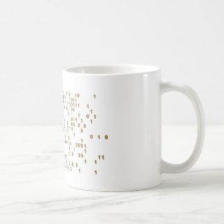 Mug Bitcoin - devise de Cyber