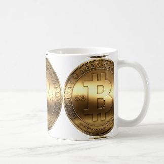 Mug Bitcoin en laiton