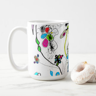Mug blanc, 444 ml, Alice's Garden