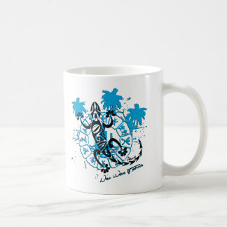 Mug blanc horoscope lézard
