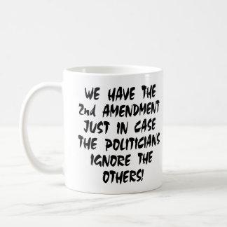 Mug Blanc nous avons le 2ème amendement