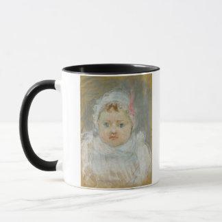 Mug Blanche Pontillon en tant que bébé, 1872 (en