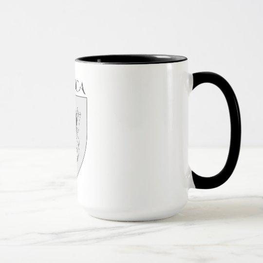 Mug blason de la Corse