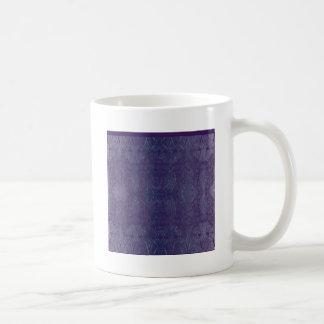 Mug bleu baroque