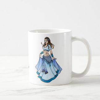 Mug Bleu Bellydancer de Sarah