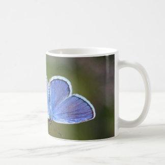 Mug bleu d'Argent-bout