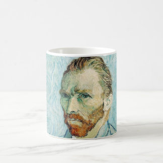 Mug Bleu d'autoportrait de Vincent van Gogh