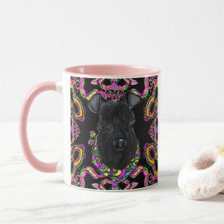Mug Bleu de Kerry Terrier