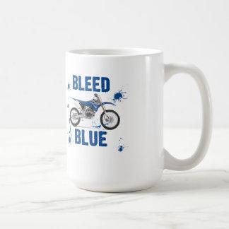 Mug Bleu de soutirage 13