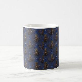 Mug Bleu d'Empire State Building pour l'autisme 2012