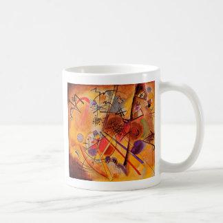 Mug Bleu rouge jaune de Kandinsky Brown