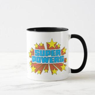 Mug Bleu superbe de logo de Powers™
