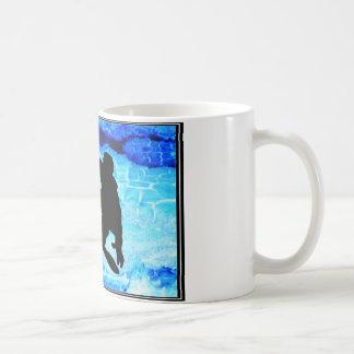 Mug Bleus de snowboarding