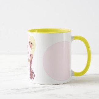 Mug blonde onduleuse de Cutie | du petit gâteau