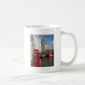 Mug Boîte de téléphone de Londres Big Ben (par St.K)