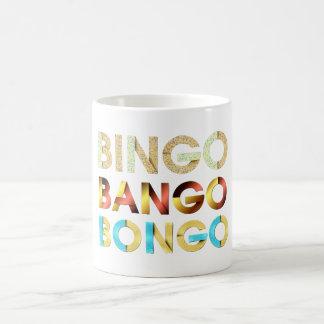 Mug Bongo de Bango de bingo-test de PIÈCE EN T