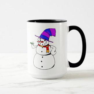 Mug Bonhomme de neige heureux