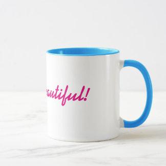 Mug Bonjour beau !