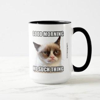 Mug Bonjour grincheux Cat™ - aucune une telle chose