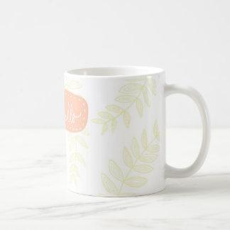 Mug Bonjour kiwi