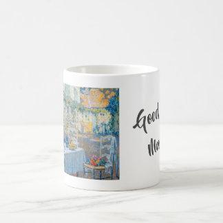 Mug Bonjour (Le Dejeuner par Henri Le Sidaner)